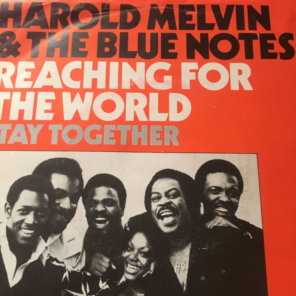 Harold Melvin-Reaching for the world-Dutch PS E+