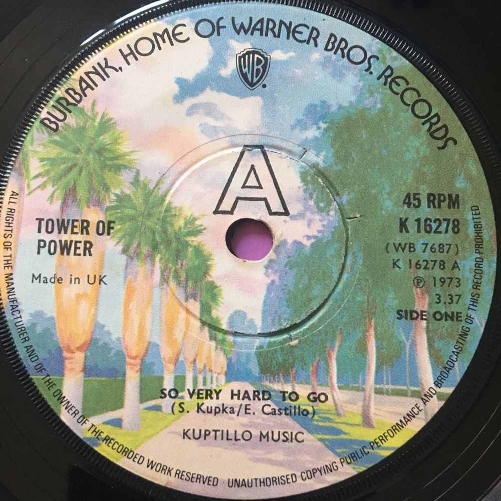 Tower of Power-So very hard to go-UK WB E+