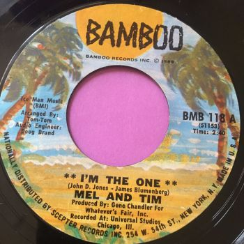 Mel and Tim-I'm the one-Bamboo E+