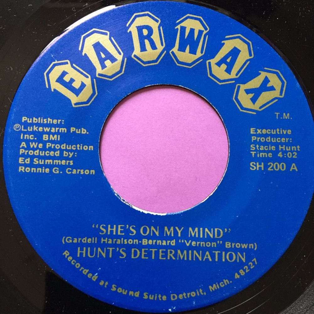 Hunts Determination-She's on my mind-Earwax M-