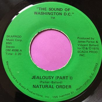 Natural Order-Jealousy-Sound of Washington E+