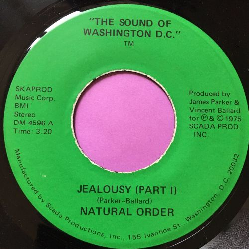 Natural Order-Jealousy-Sound of Washington E+