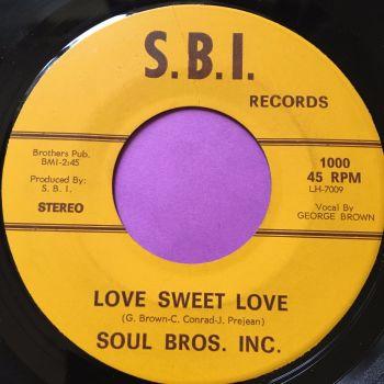 Soul Bros. Inc-Love sweet love-SBI E