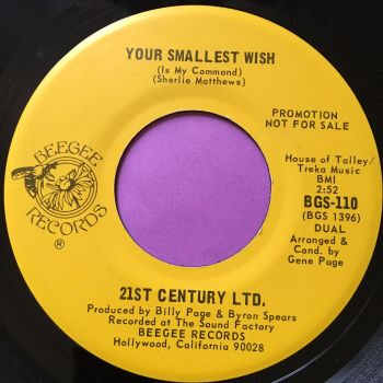 21st Century Ltd-Your smallest wish-Beebee E+