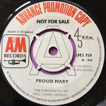 Checkmates Ltd-Proud Mary-UK A&M WD E+