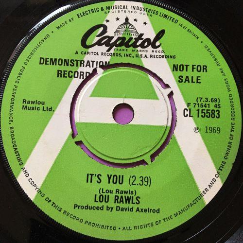 Lou Rawls-It's You-Capitol Demo E+