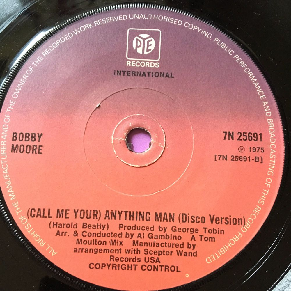 Bobby Moore-Anything man-UK Pye E