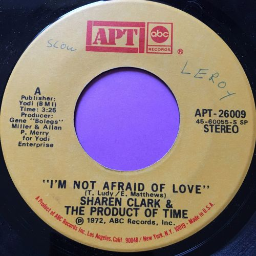Sharen Clark-I'm not afraid to love-APT E
