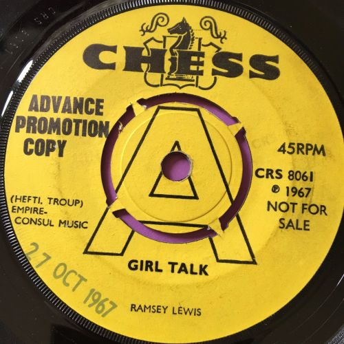 Ransey Lewis-Girl talk/Dancing in the street-UK Chess demo vg+