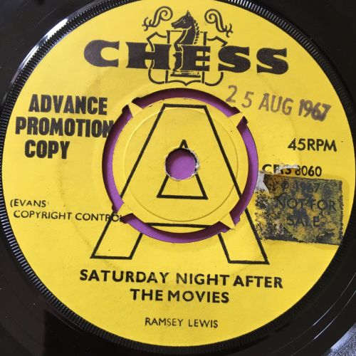 Ramsey Lewis-Saturday night at the movies-UK Chess demo stkr E