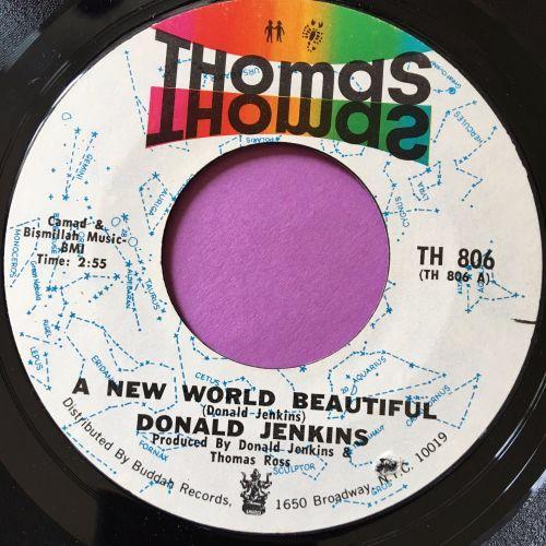 Donald Jenkins-A new world beautiful-Thomas E