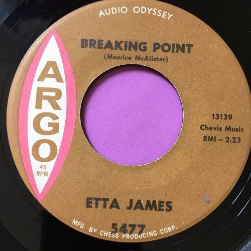 Etta James-Breaking point-Argo E