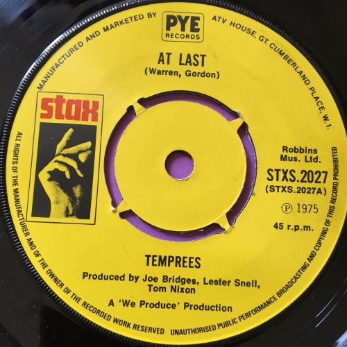 Temprees-At last-UK Stax E+