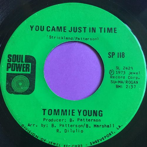 Tommie Young-You came just in time-Soul Power E