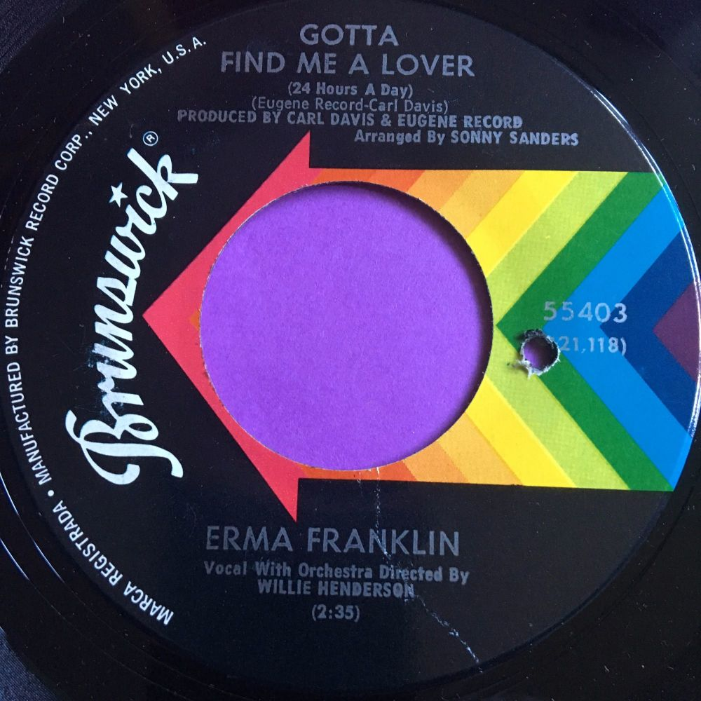 Erma Franklin-Gotta find me a lover-Brunswick E+