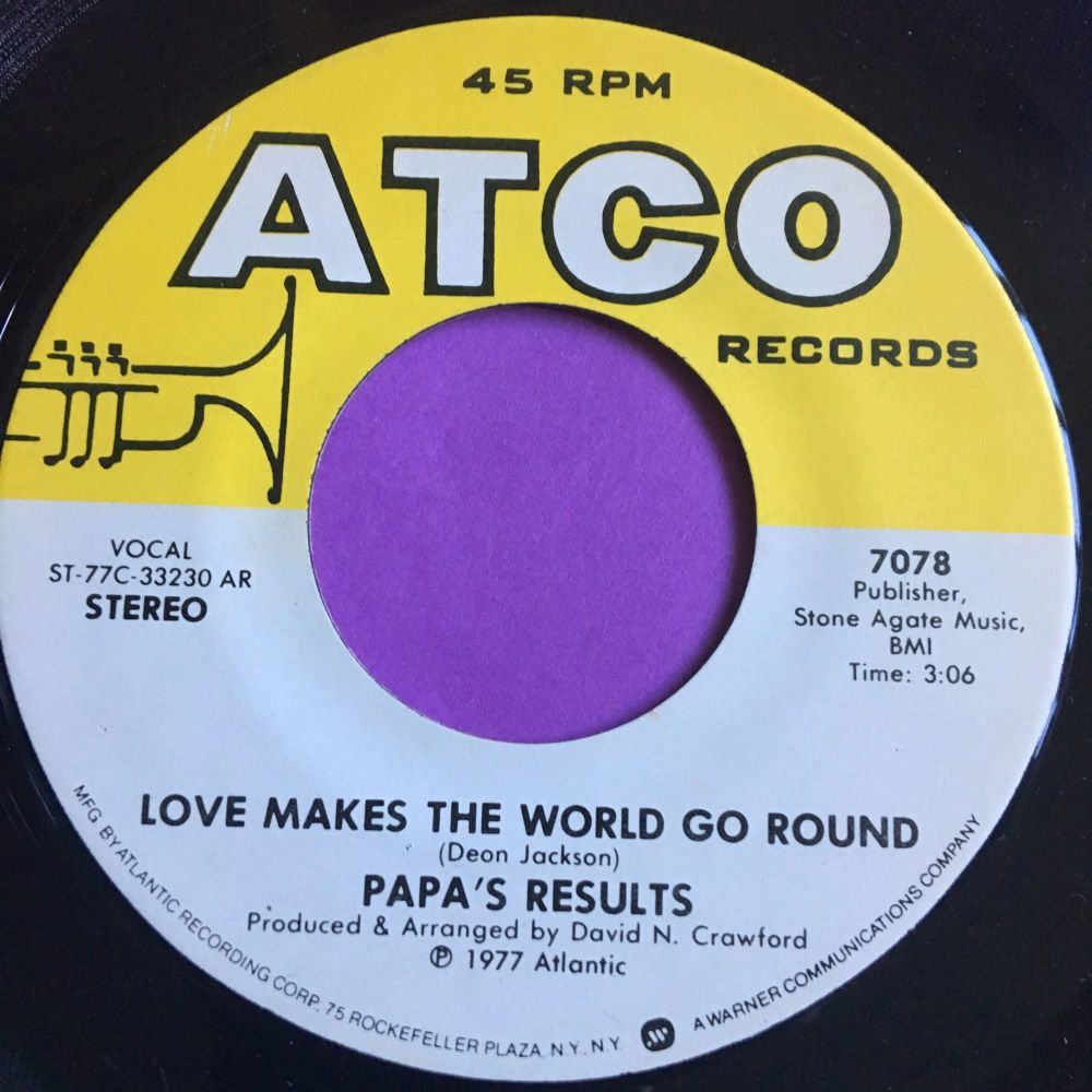Papa's results-Love makes the world go round-Atco E+