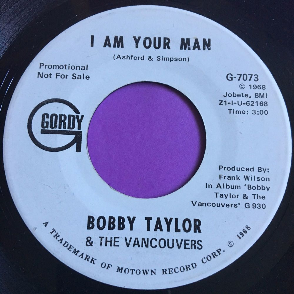 Bobby Taylor-I am your man-Gordy WD E+