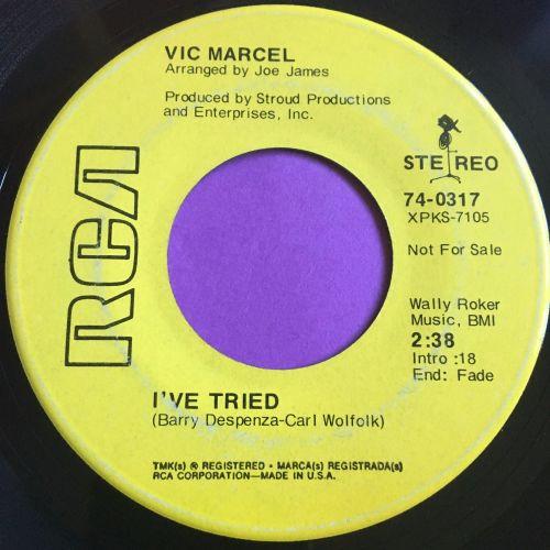 Vic Marcel-I've tried-RCA Demo E-