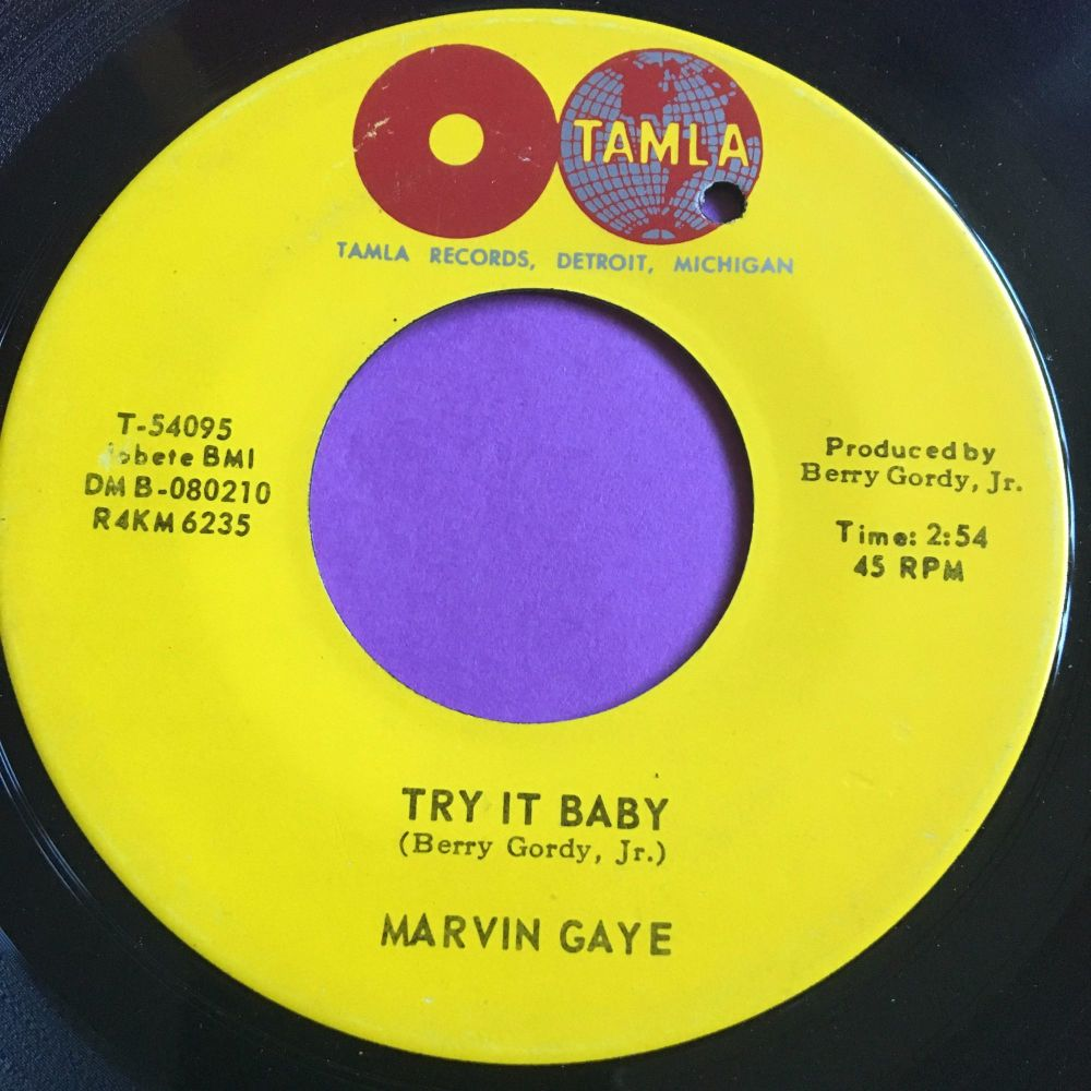 Marvin Gaye-Try it baby-Tamla E+