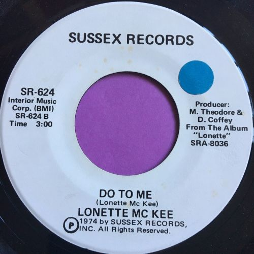 Lonette McKee-Do to me-Sussex E+