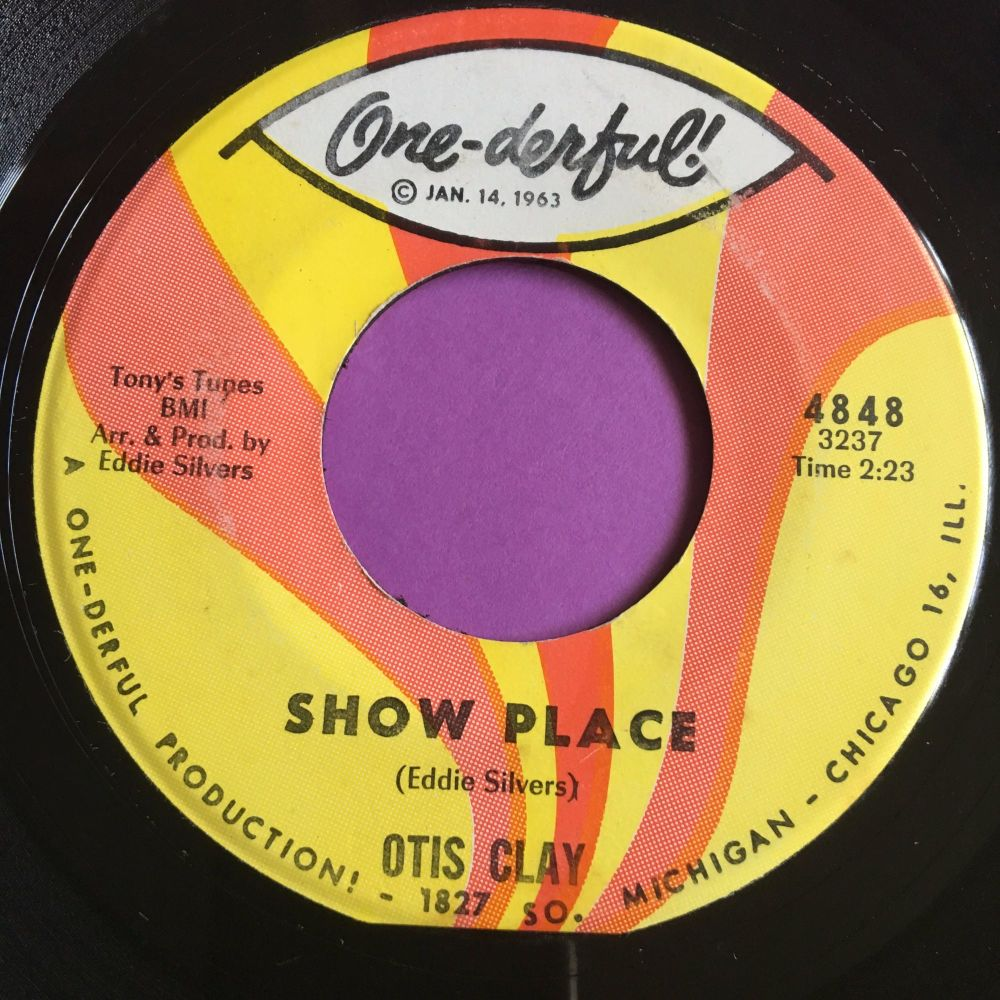 Otis Clay-Show place-One-derful E+