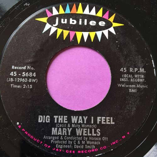 Mary Wells-Dig the way I feel-Jubilee M-