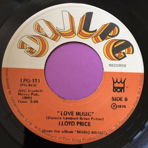 Lloyd Price-Love music-LPG E