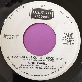 Otis Leavill-You brought out the good in me-Dakar WD E+
