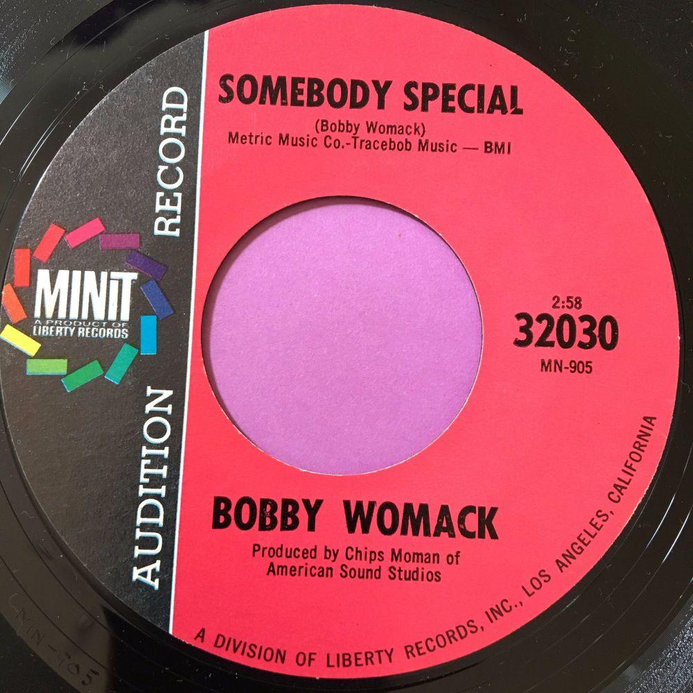 Bobby Womack-Somebody special-Minit demo E+