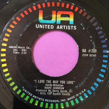Marv Johnson-I love the way you love-UA E