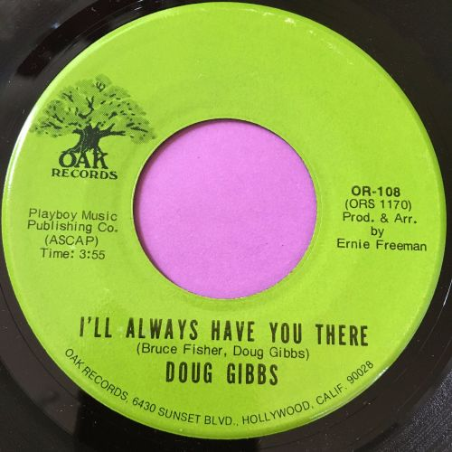 Doug Gibbs-I'll always have you there-Oak M-