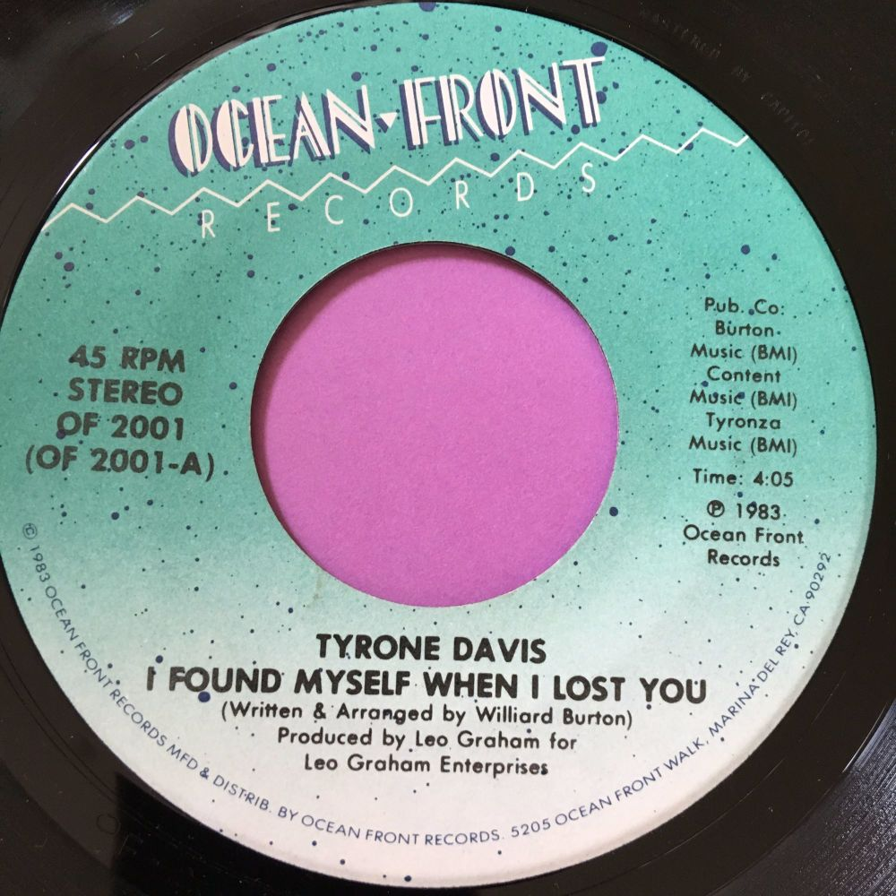 Tyrone Davis-I found myself when I lost you-Ocean front E+