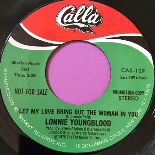 Lonnie Youngblood-Let me love bring out the woman in you-Calla E+