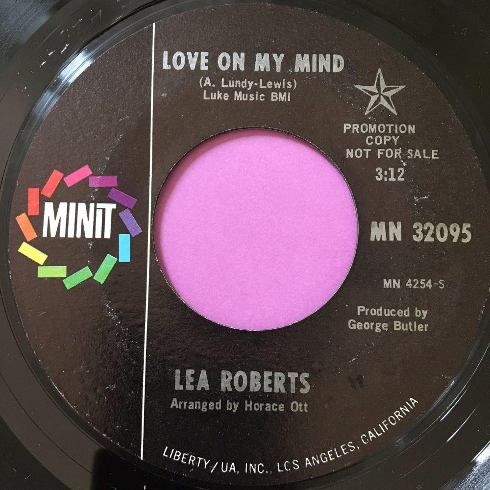 Lea Roberts-Love on my mind-Minit M-