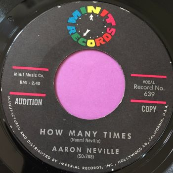 Aaron Neville-How many times-Minit E+