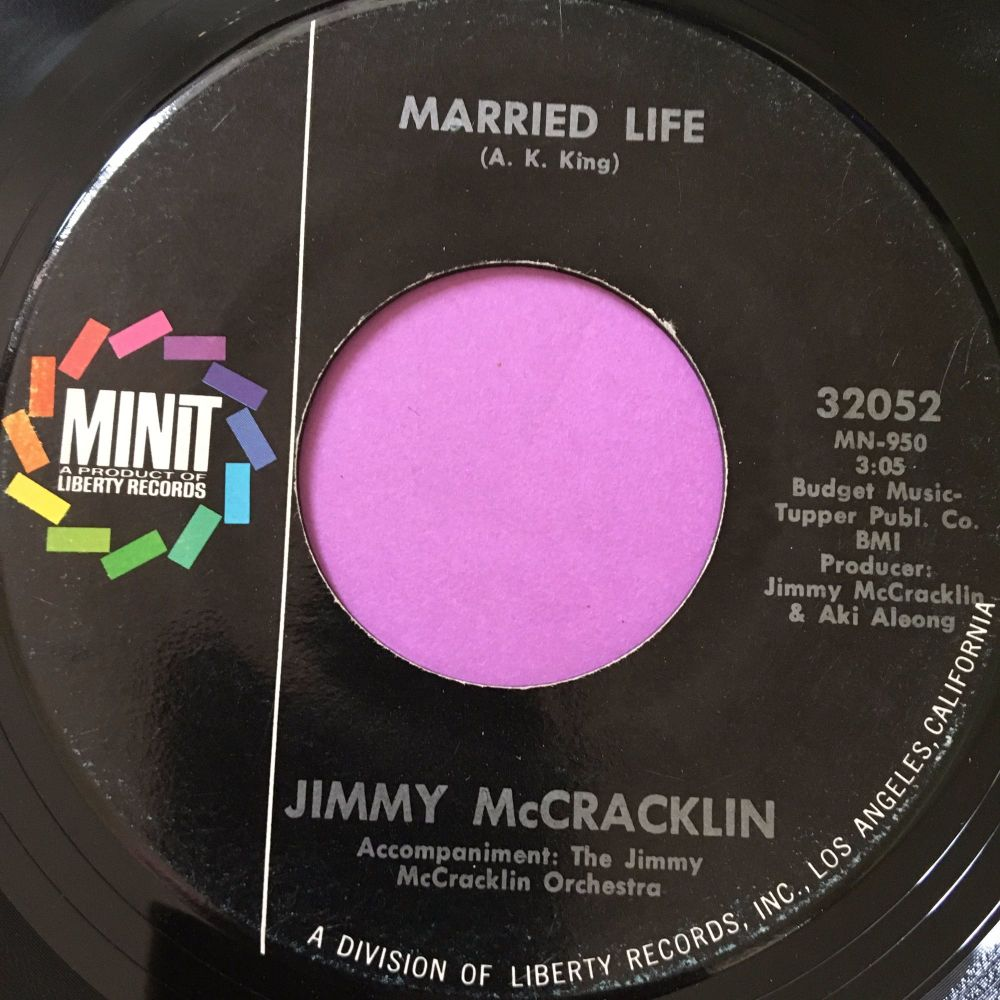 Jimmy McCracklin-Married Life-Minit E
