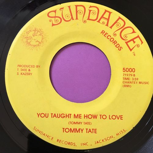 Tommy Tate-You taught me how to love-Sundance E+