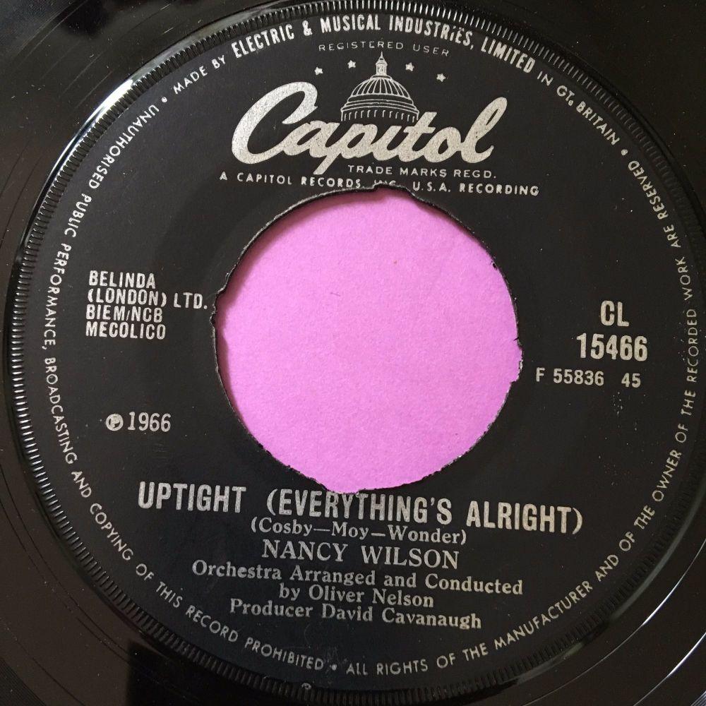 Nancy Wilson-Uptight-UK Capitol E