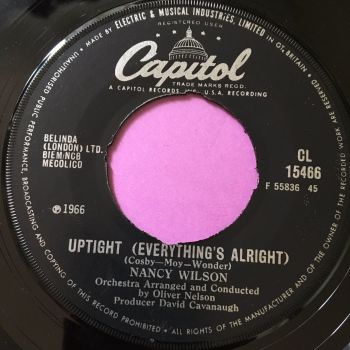Nancy Wilson-Uptight-UK Capitol E