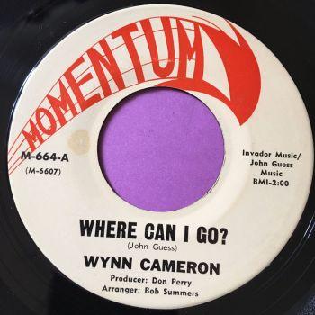 Wynn Cameron-Where can I go-Momentum E+