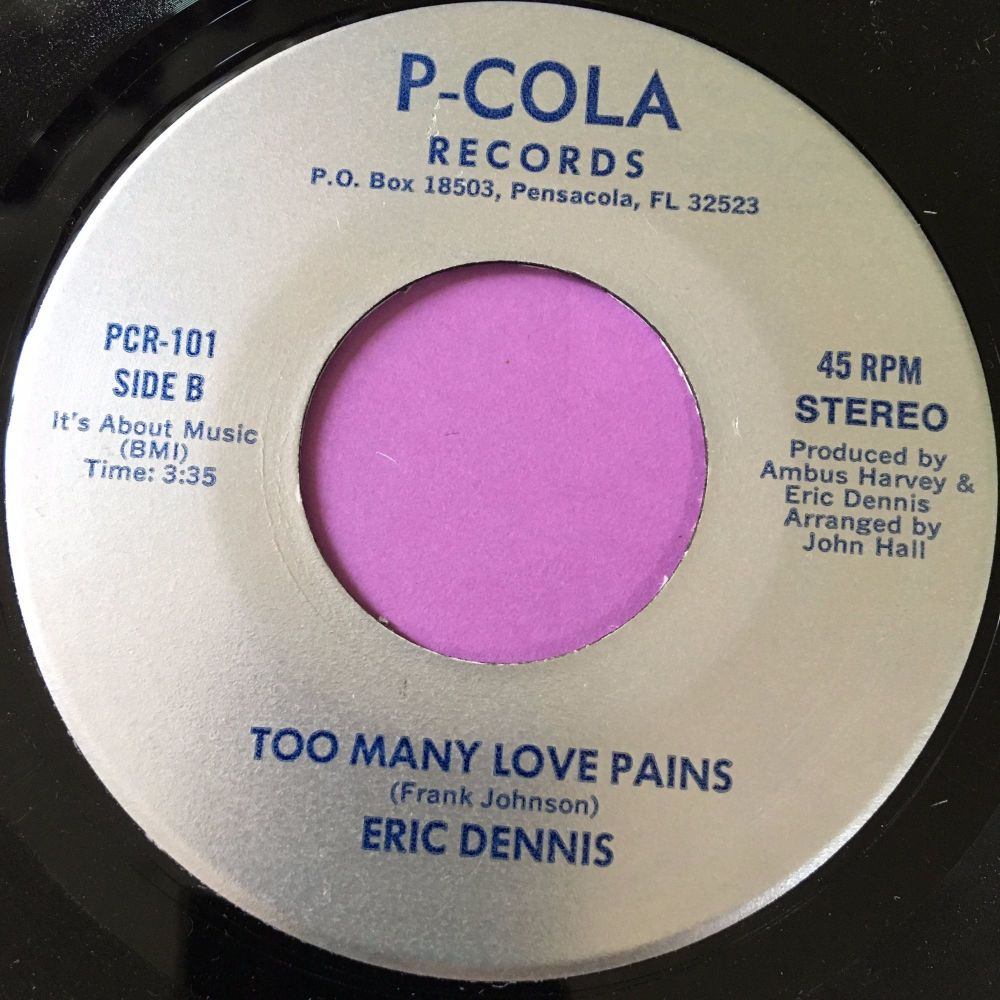 Eric Dennis-Too many love pains-P-Cola E+