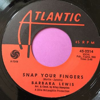 Barbara Lewis-Snap your fingers-Atlantic E+