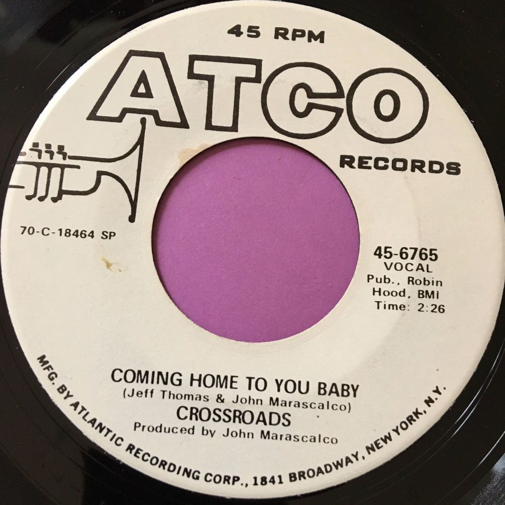 Crossroads-Coming home to you baby-Atco WD E+