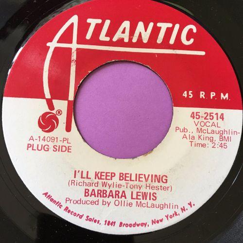 Barbara Lewis-I'll keep believing-Atlantic demo E+