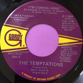 Temptations-I'm coming home-Gordy E+