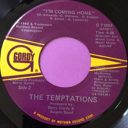 Temptations-I'm coming home-Gordy E+