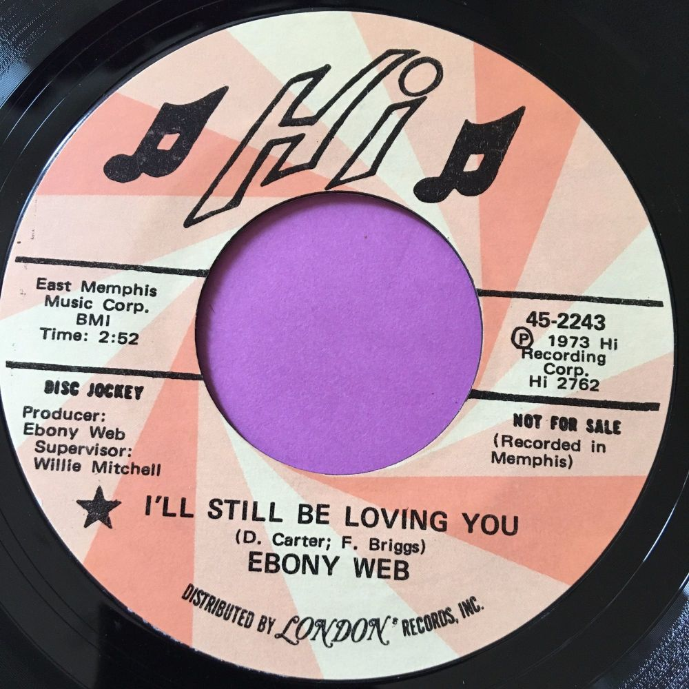 Ebony Web-I'll still be loving you-Hi E+