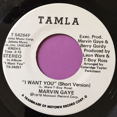 Marvin Gaye-I want you-Tamla WD  E+