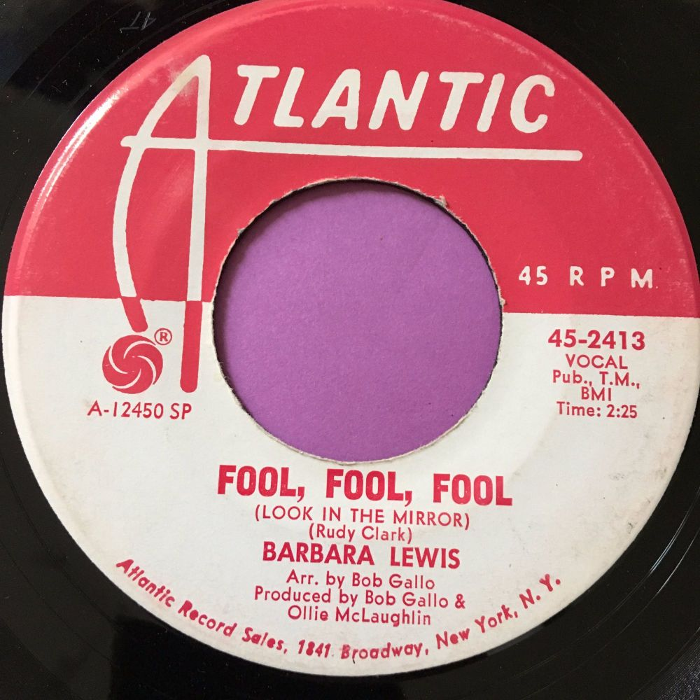Barbara Lewis-Fool fool fool-Atlantic E