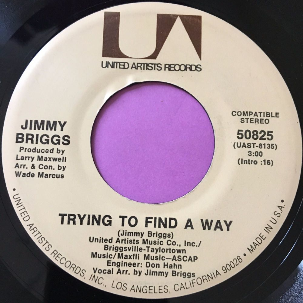 Jimmy Briggs-Trying to find a way-UA E+